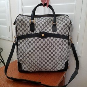 GUCCI Vintage Overnight Travel Duffle Tote